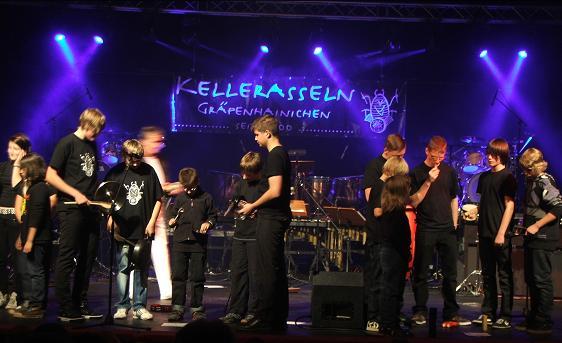 Die Veranstaltung mit Kellerasseln betreuten wir am 04.09.2010