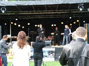 Resurrection Power Ministries standen im Jahr 2008 auf unserer Open Air Bühne